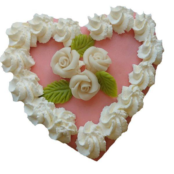 harttaart roze