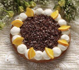 sinaasappelchocoladevlaai